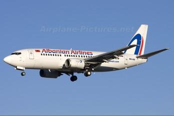 OM-ASD - Albanian Airlines Boeing 737-300