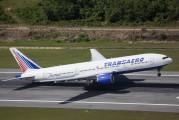 EI-UNZ - Transaero Airlines Boeing 777-200 aircraft