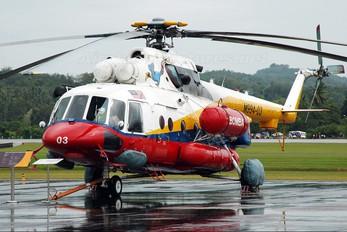 M994-03 - Malaysia - Fire Dept (Bomba) Mil Mi-171