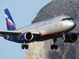 VP-BZS - Aeroflot Airbus A320 aircraft