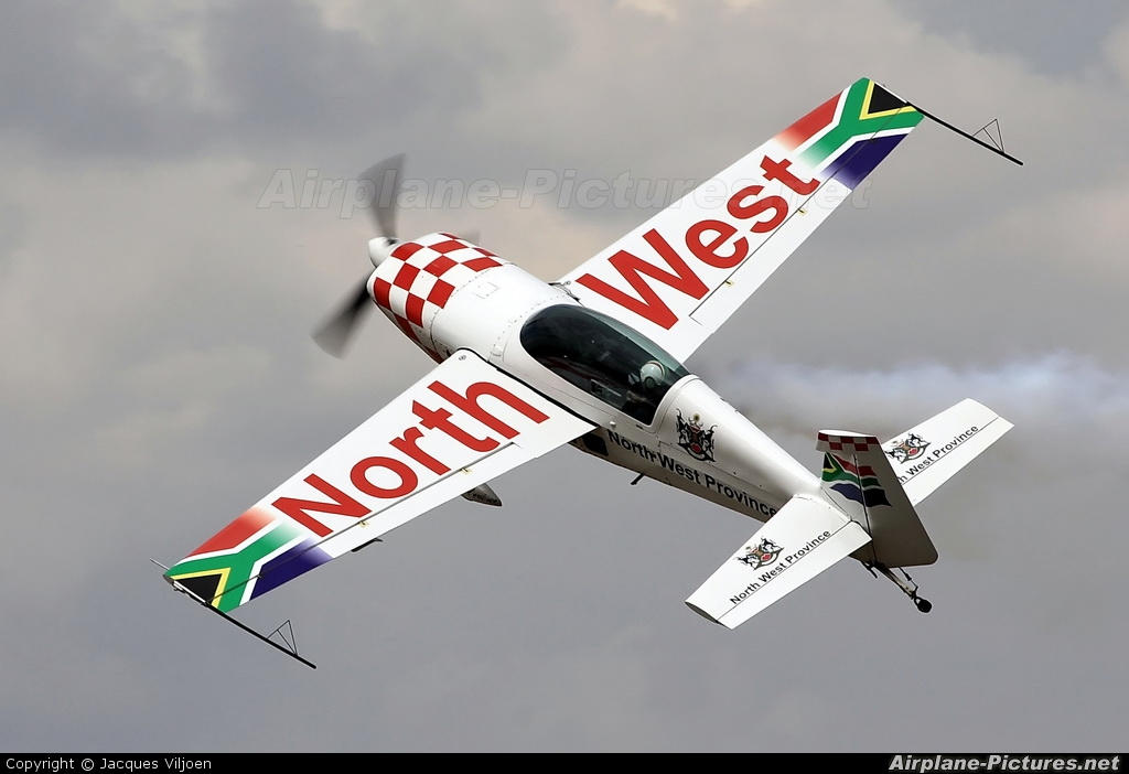 Private ZU-EXT aircraft at Potchefstroom