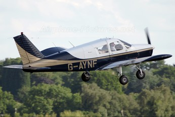 G-AYNF - Private Piper PA-28 Cherokee