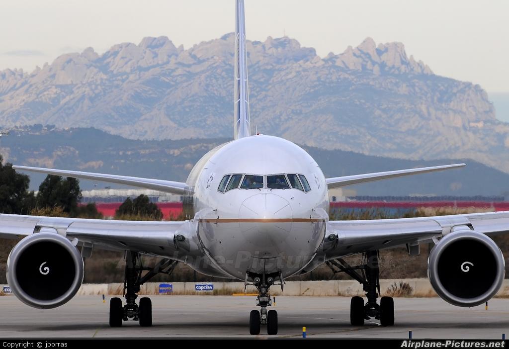 Continental Airlines N76151 aircraft at Barcelona - El Prat