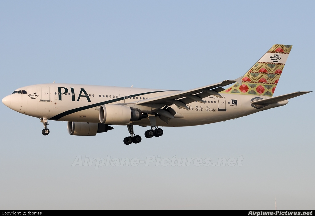 PIA - Pakistan International Airlines AP-BEG aircraft at Barcelona - El Prat