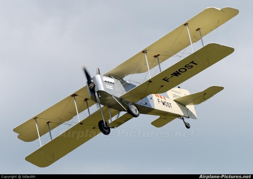 Private F-WOST aircraft at La Ferté-Alais