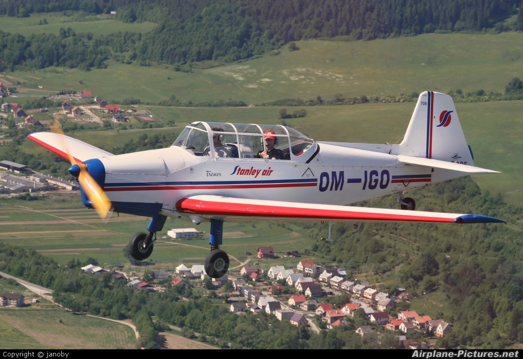 Stanley Air OM-IGO aircraft at In Flight - Slovakia