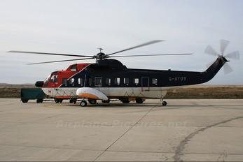 G-AYOY - British International Sikorsky S-61N
