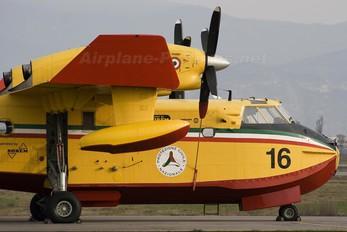 I-DPCW - Italy - Protezione civile Canadair CL-415 (all marks)