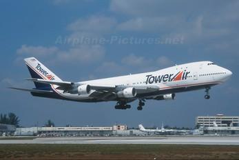 N606FF - Tower Air Boeing 747-100