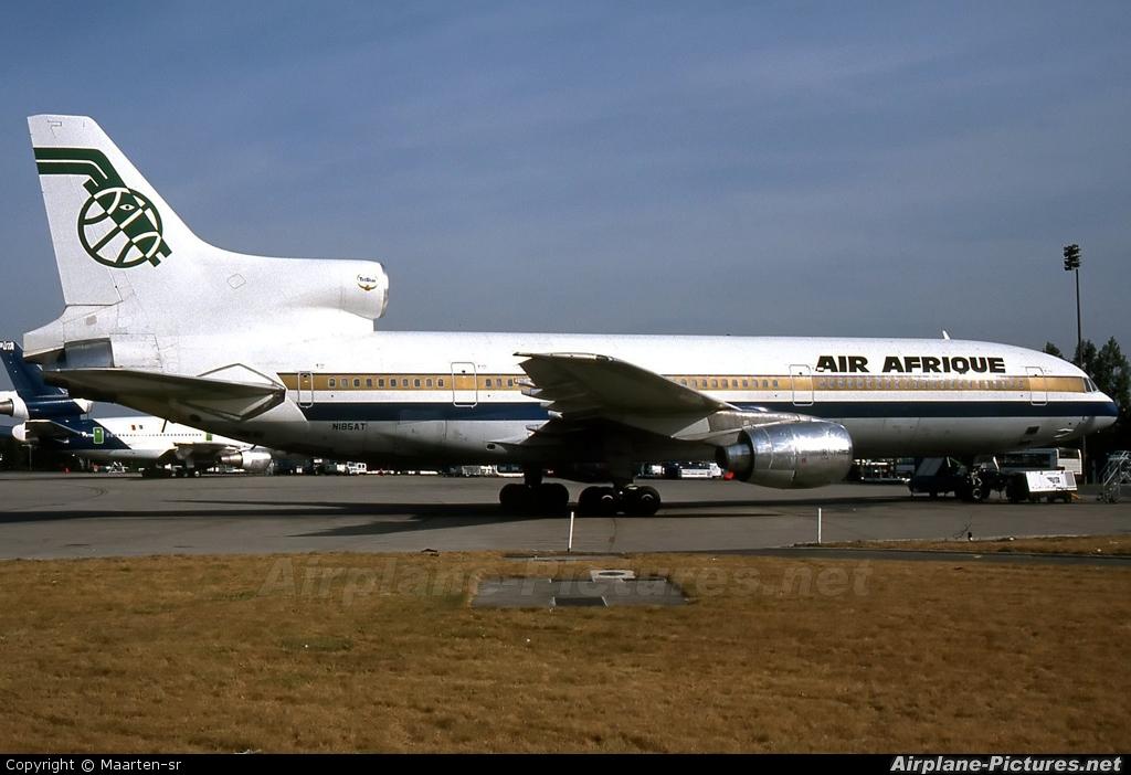 Air Afrique N185AT aircraft at Paris - Charles de Gaulle