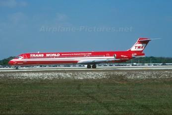 EI-BWD - TWA McDonnell Douglas MD-83