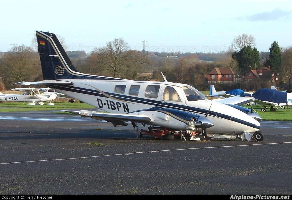 Air Charter Berlin D-IBPN aircraft at Elstree