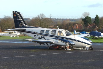 D-IBPN - Air Charter Berlin Beechcraft 58 Baron