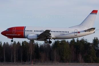 LN-KKU - Norwegian Air Shuttle Boeing 737-300