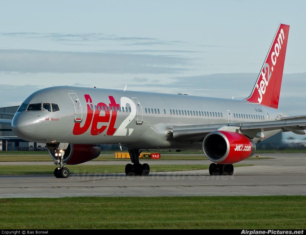 Jet2 G-LSAE aircraft at Manchester