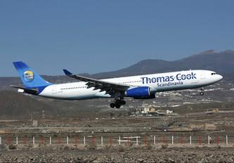 OY-VKG - Thomas Cook Scandinavia Airbus A330-300
