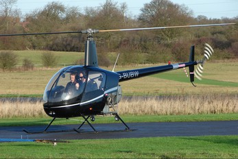 G-BUBW - Private Robinson R22