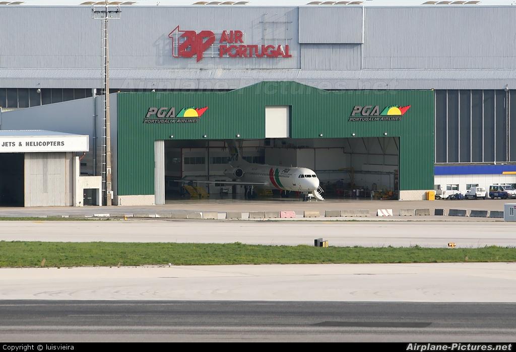 PGA Portugalia CS-TPF aircraft at Lisbon