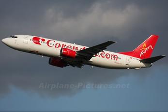 TC-TJD - Corendon Airlines Boeing 737-400