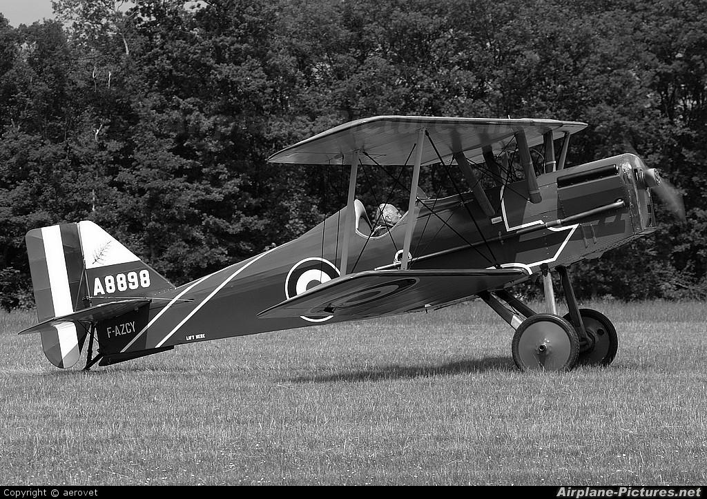 Amicale Jean Salis F-AZCY aircraft at La Ferté-Alais