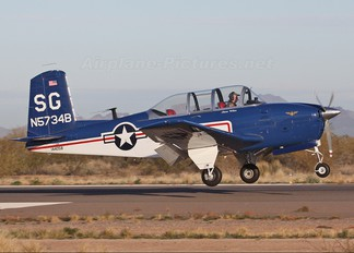 N5734B - Private Beechcraft T-34B Mentor