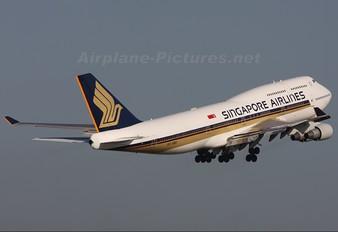 9V-SMU - Singapore Airlines Boeing 747-400