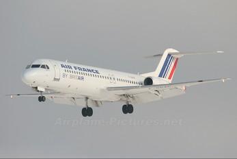 F-GPXF - Air France - Brit Air Fokker 100