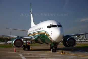 N737WH - Private Boeing 737-700 BBJ