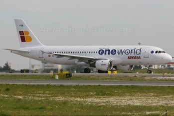 EC-FDB - Iberia Airbus A320