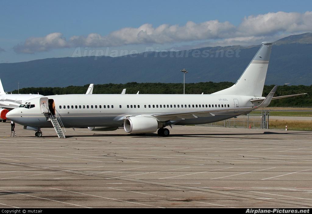 Vp Bzl Private Boeing 737 800 Bbj At Geneva Intl Photo