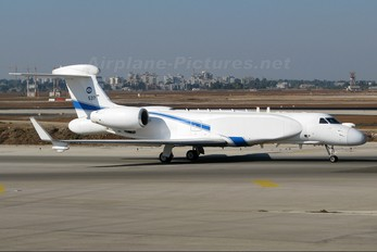 537 - Israel - Defence Force Gulfstream Aerospace G-V, G-V-SP, G500, G550