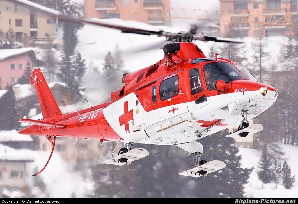 HB-XWG - REGA Swiss Air Ambulance Agusta / Agusta-Bell A 109 at ...