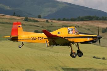 OM-TOP - Aero Slovakia Zlín Aircraft Z-137T Turbočmelák