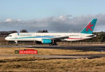G-OOBJ - First Choice Airways Boeing 757-200