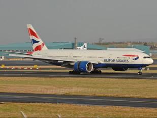 G-RAES - British Airways Boeing 777-200