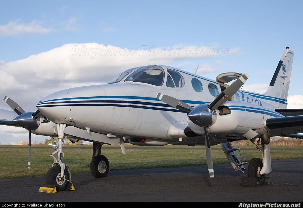 Air Charter Scotland G-LIZA aircraft at Perth - Scone