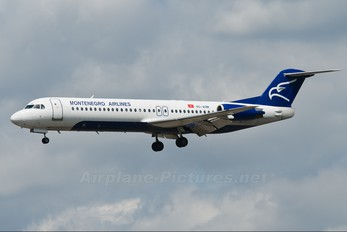 4O-AOM - Montenegro Airlines Fokker 100