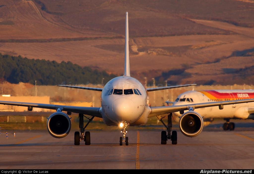 Iberia EC-HUI aircraft at Madrid - Barajas