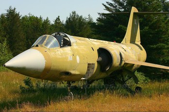 R-812 - Denmark - Air Force Canadair CF-104 Starfighter