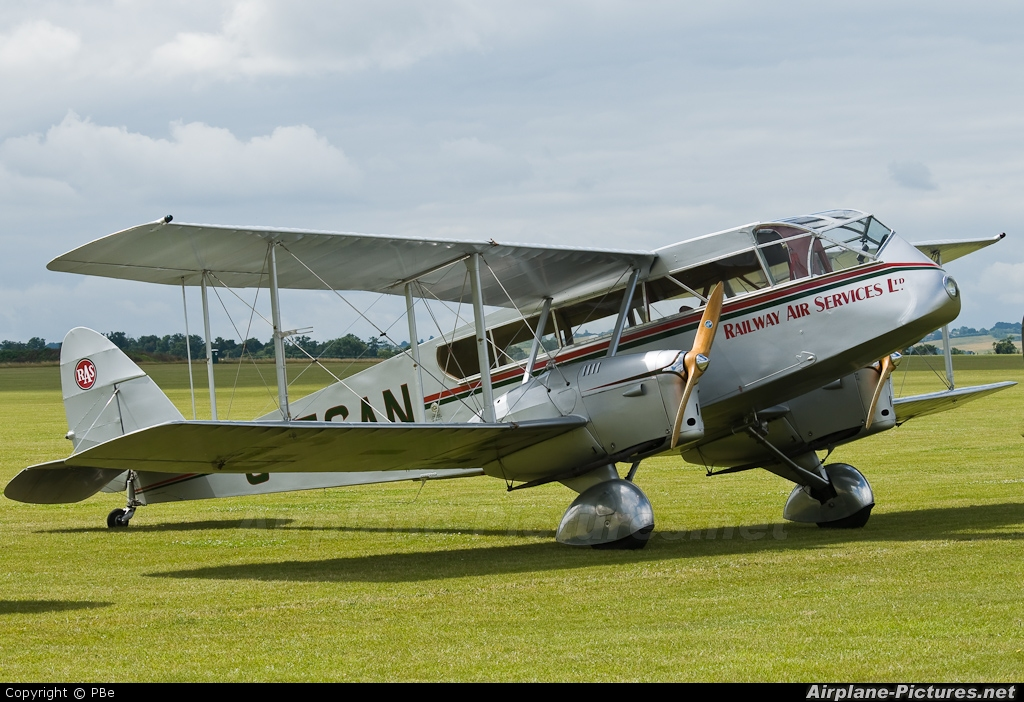 Private G-ECAN aircraft at Duxford