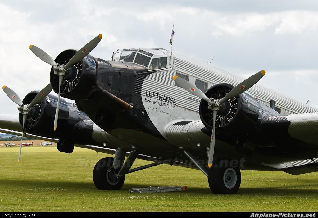 Junkers Berlin d cdlh lufthansa berlin stiftung junkers ju 52 at duxford photo id 37672 airplane