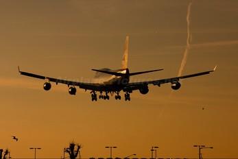 G-CIVW - British Airways Boeing 747-400