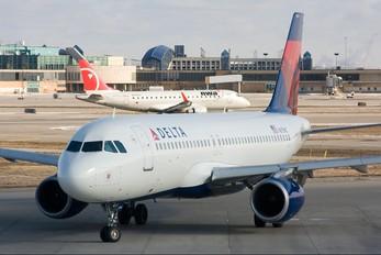 N375NC - Delta Air Lines Airbus A320