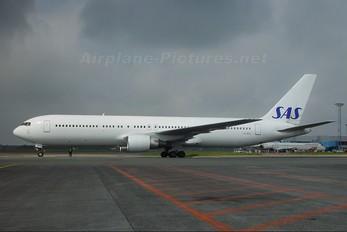 LN-RCD - SAS - Scandinavian Airlines Boeing 767-300