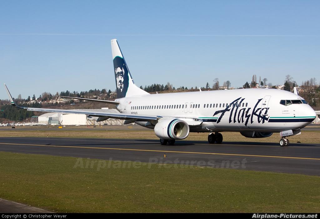N518as Alaska Airlines Boeing 737 800 At Seattle