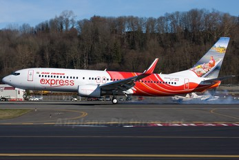 VT-AXZ - Air India Express Boeing 737-800