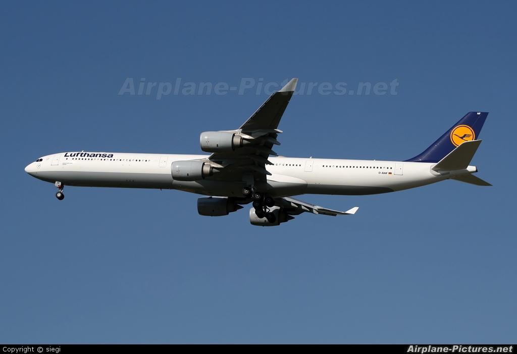 Lufthansa D-AIHF aircraft at Tel Aviv - Ben Gurion