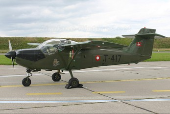 T-417 - Denmark - Air Force SAAB MFI T-17 Supporter