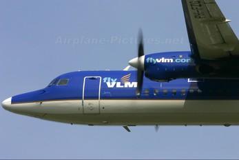 PH-FZG - Denim Air Fokker 50