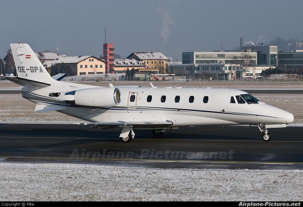 AVAG Air OE-GPA aircraft at Salzburg